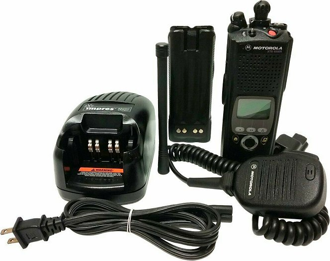 Motorola XTS5000 II VHF P25 Digital Two Way Radio AES DES ADP