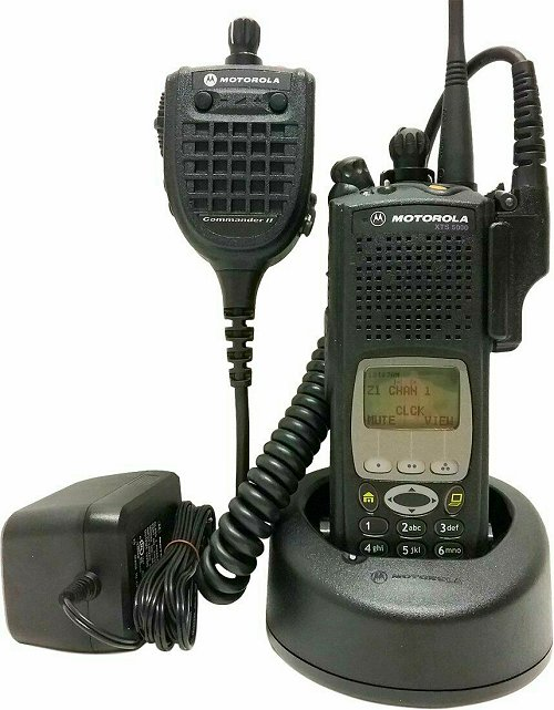 Motorola ASTRO XTS 5000 III 7/800 MHz P25 Digital Two Way Radio